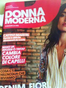 articolo donna moderna copertina